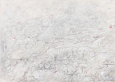 Walter Hanel: Die Stadt (982), Zeichnung 1990
