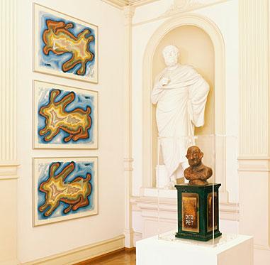 Blick in die Ausstellung **