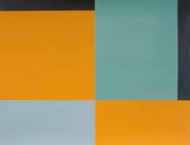 """aus """"Farbvariationen 1 bis unendlich"""", 2012, Acryl auf Papier"""