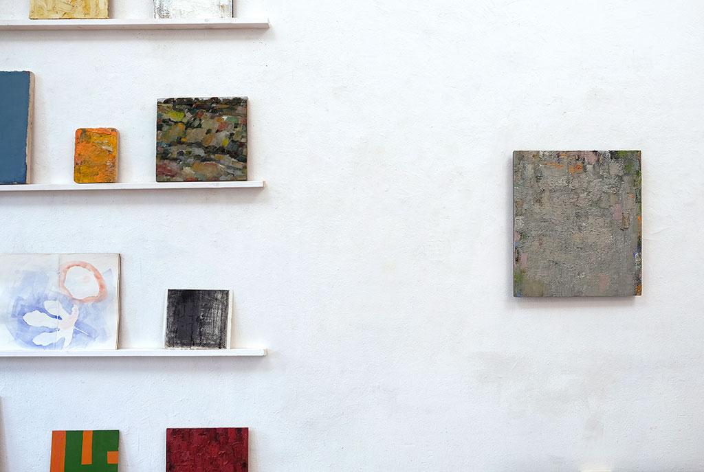 Atelieransicht, Herbst 2020, Peter Tollens
